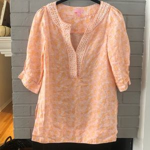 Lily Pulitzer swim cover up